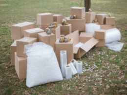 Boxes, Bubble Wrap, Stretch Wrap, Packing Tape