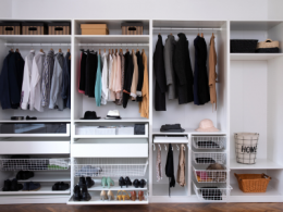 Organized and Decluttered Closet